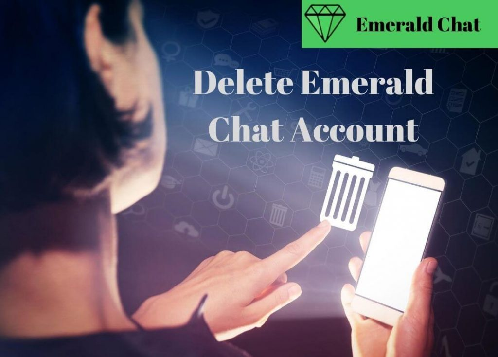 Delete Emerald Chat Account